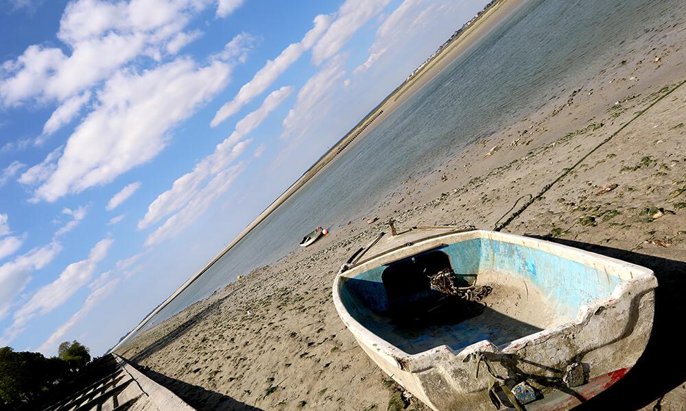 Barque de la baie de somme