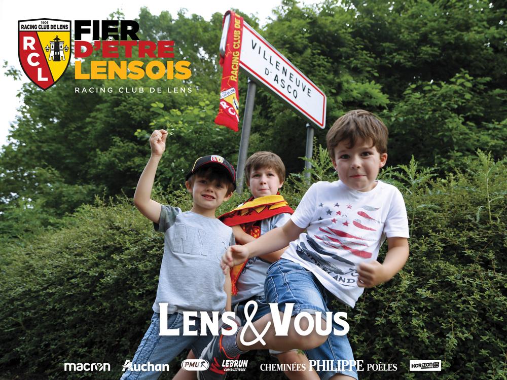 campagne d'abonnement du rc lens lors de la saison 2018 2019
